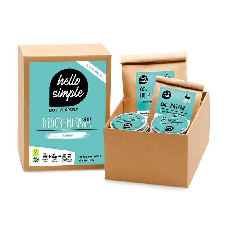 Kit para desodorante DIY Hello Simple Zero Waste en el baño. Parte II