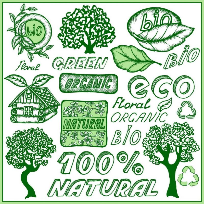 logo greenwashing eco