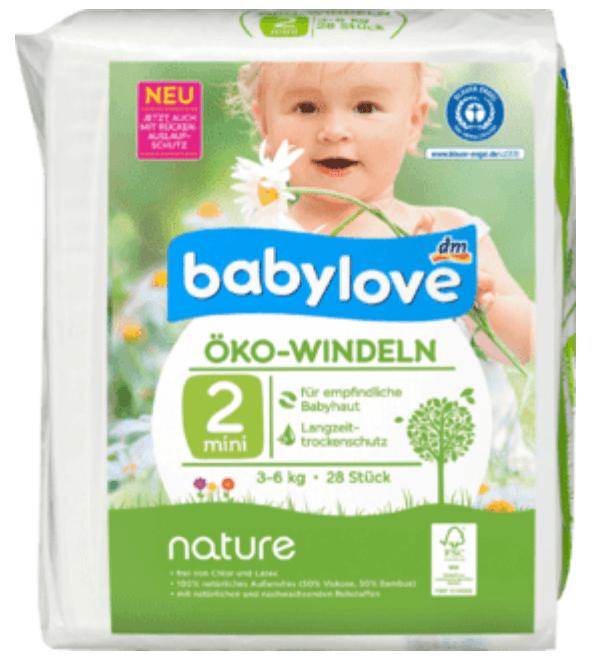 Pañales biodegradables DM. Un bebé en casa