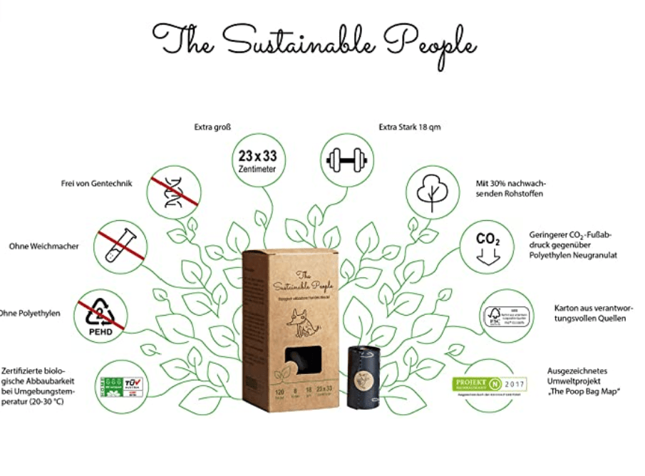 Bolsitas compostables-The sustainable People